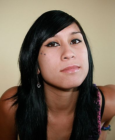 File:Myself and my dermal anchor cheek piercings (aka ...