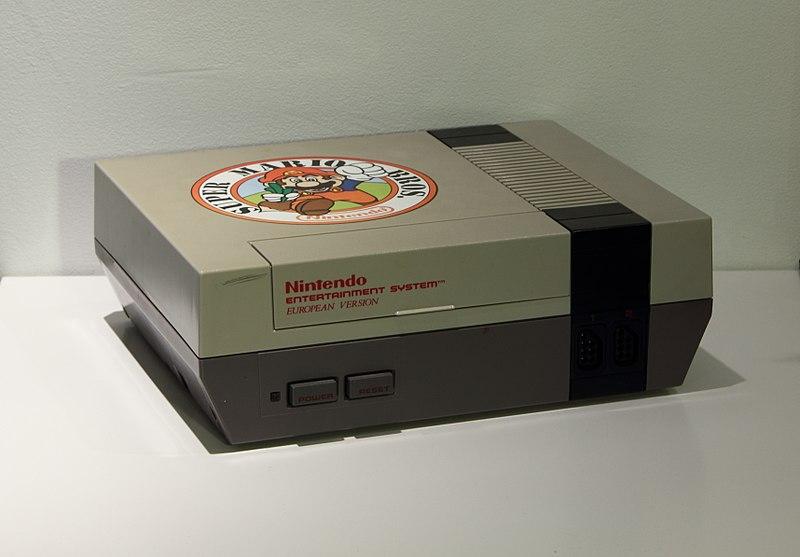 File:NES European Version with a Super Mario Bros sticker 20110723.jpg