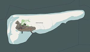 Schiermonnikoog National Park - Map of Schiermonnikoog NP