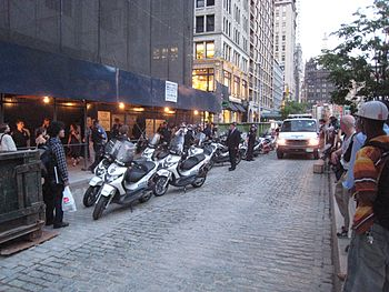 NYPD(New York City Police Department) Piaggio ...