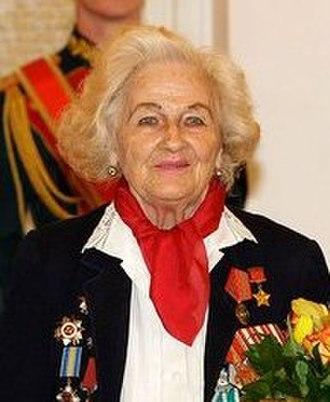 Night Witches - Captain Nadezhda Popova, pilot, in 2009