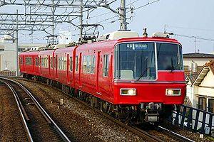 Meitetsu 5700 series - A Meitetsu 5700 series train