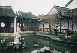 Mochou Lake - The statue of Mochou.