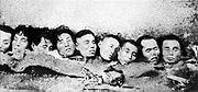 Nanjing Massacre severed heads