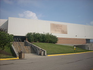 Naperville North High School - The Athletic Entrance and Contest Gym