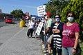 Napisi na protestu proti predsedniku Borutu Pahorju na Fernetičih 08.jpg