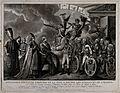 Napoleon Bonaparte presenting olive branches to all the powe Wellcome V0048274.jpg