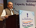 Narendra Singh Tomar addressing at the inauguration of the National Conference of Sarpanches and Gram Panchayat Secretaries, in New Delhi.jpg