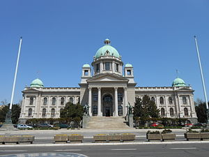 Konstantin Jovanović - Neoclassical National Assembly of Serbia building