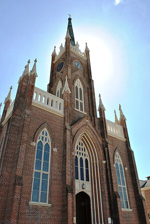 St. Mary Basilica, Natchez - Image: Natchez On Top of the Hill Historic District 464
