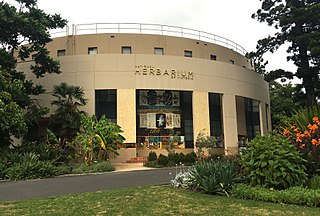 National Herbarium of Victoria herbarium situated within the Royal Botanic Gardens, Melbourne, Australia