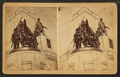 National Lincoln Monument, Springfield, Illinois. Infantry group and statue of Lincoln, from Robert N. Dennis collection of stereoscopic views 2.png