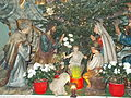 Nativity scene 2015. Church of Saint Francis. - Fő St., Budapest.JPG