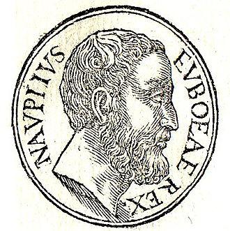 Nauplius (mythology) - Nauplius, father of Palamedes