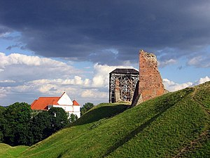 Voruta - Ruins of Navahrudak Castle in the west of Belarus, also a possible site of Voruta