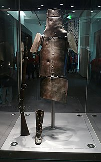 Armour of the Kelly gang Homemade armour used by Ned Kelly and his associates
