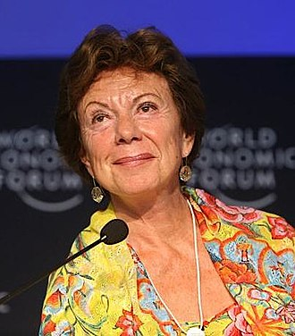 Neelie Kroes - Neelie Kroes as European Commissioner for Competition in 2007
