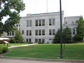 Neosho, Missouri - Newton County Courthouse, 2006