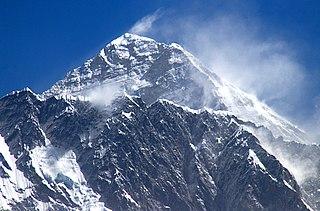 Mount Everest in 2018