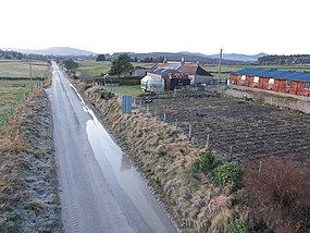 Nether Aquithie Farm and track - geograph.org.uk - 648596.jpg
