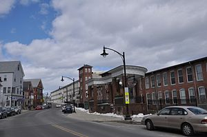 Newmarket, New Hampshire - Image: Newmarket NH Main Street