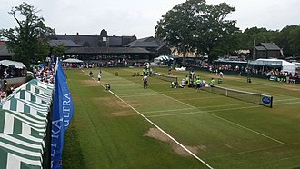 Hall of Fame Tennis Championships - Side courts in 2015