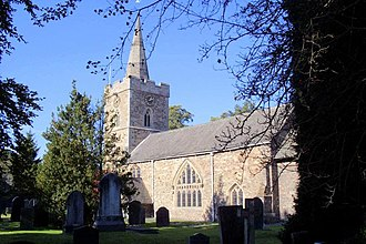 Newtown Linford - Image: Newtown Linford Church