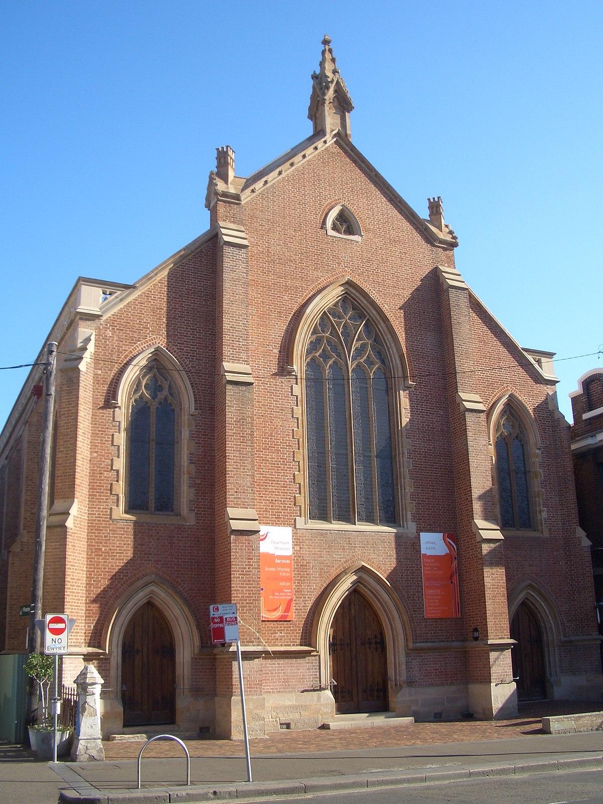 church uniting mission newtown wales south wikipedia australia sydney king street