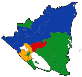 Nicaraguan general election, 2006 - Image: Nic Poll Legislative