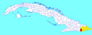 Niceto Pérez - Image: Niceto Pérez (Cuban municipal map)