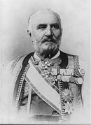 Nicholas I, King of Montenegro, 1841-1921, head and shoulders portrait, facing left LCCN2005680731.jpg