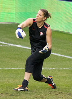 Nicole Barnhart National Womens Soccer League and United States national team goalkeeper
