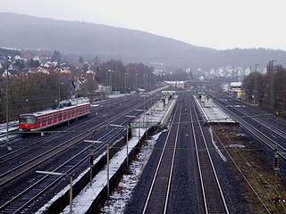 Niedernhausen station railway station in Niedernhausen, Germany