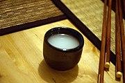 Sake sin filtrar.