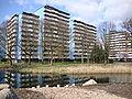 Nijmegen Dukenburg, hoogbouw Zwanenveld (geologenstrook).JPG