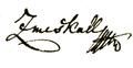 Nikolaus Zmeskall - signature 1822.png