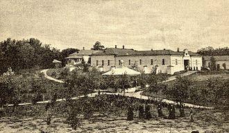Belgorod Oblast - Nikolo-Tikhvinsky Monastery in 1900