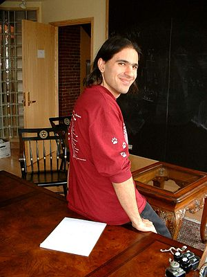 Nima Arkani-Hamed - Image: Nima Arkani Hamed at Harvard