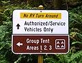 No RV Turn Around Sign at Beverly Beach State Park.jpg