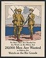No more men are needed for the watch on the Rhine, but 26,000 men are wanted to relieve the watch on the Rio Grande - Gordon Grant Capt. U.S.A. LCCN2002712341.jpg
