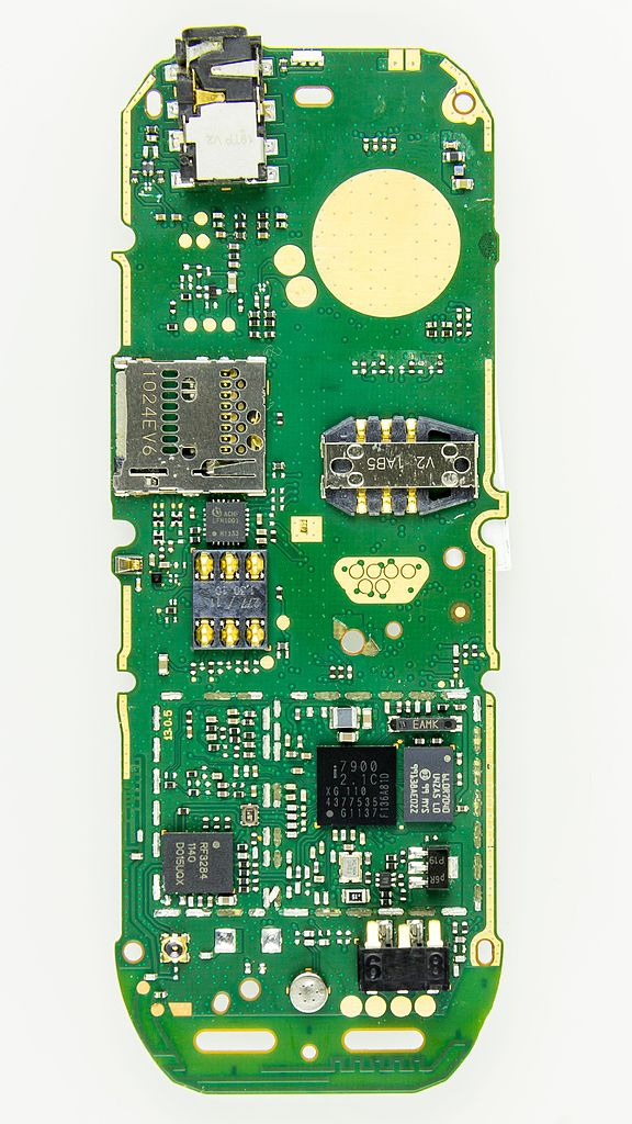 file nokia 101 printed circuit board 1143 jpg wikimedia commons rh commons wikimedia org Printed Wiring Assembly Chassis Printed Circuits Assembly Bellevue WA