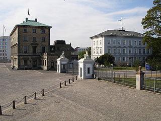 Nordre Toldbod street in Copenhagen