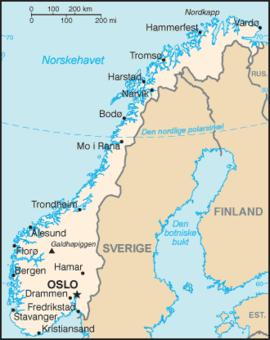 norveska mapa Списак градова у Норвешкој — Википедија, слободна енциклопедија norveska mapa