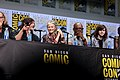 Norman Reedus, Melissa McBride, Lennie James & Chandler Riggs (36013330631).jpg
