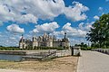 North-west facade of the Castle of Chambord 07.jpg