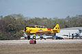 North American SNJ-6 Texan Navy Landing 02 TICO 13March2010 (14599496695).jpg