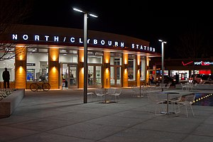 North/Clybourn station - Image: North Clybourn CTA 20101110
