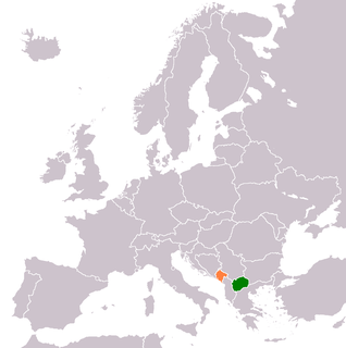 Diplomatic relations between Montenegro and North Macedonia