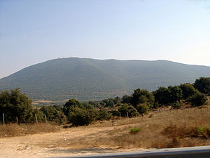Mount Meron - Northern slopes of Mt. Meron