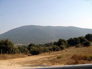 Mount Meron mountain